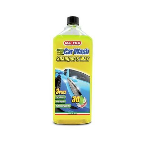 CAR WASH SHAMPOO E CERA 1 LT