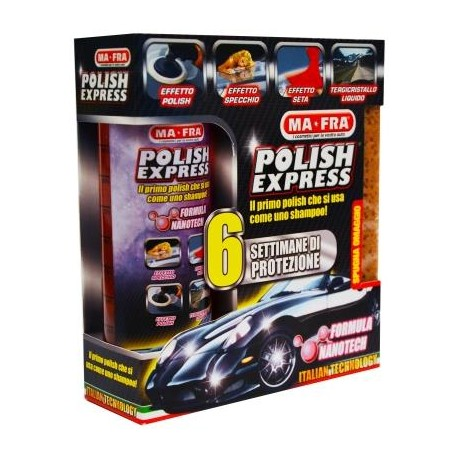 POLISH EXPRESS KIT 250 ML CON SPUGNA