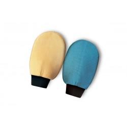 Manopola microfibra + pelle scamosciata